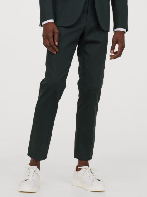 tailored fit pants